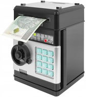 SKARBONKA SEJF Wpłatomat Monet Banknotów na PIN
