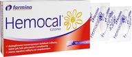 HEMOCAL lek czopki na hemoroidy 10 sztuk FARMINA