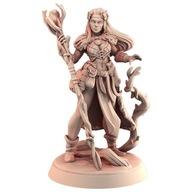 Leśny druid, piękność, Eco Żywica, Figurka RPG, GM