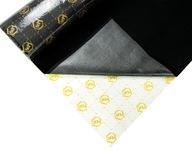 Dywan samoprzylepny czarny wykładzina 2mm filc
