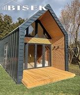 Domy z drewna drewniane domki letniskowe
