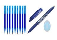 Długopis Pilot Frixion 0,7 + 9 Wkładów + Gumka