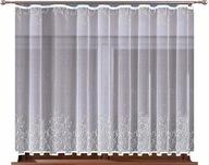 KOTKI firana żakard. rozm. 250x140cm (gotowa)