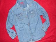 rebel koszula cienki jeans 116 stan bdb