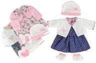ubranko BABY dla lalki BORN sukienka UBRANKA 40cm