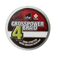 Plecionka DAM Crosspower 4-Braid 0,10mm/300m Green