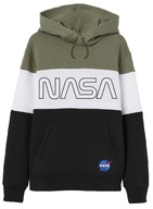NASA BLUZA TRIKOLOR KAPTUR KANGURKA 134 E26C