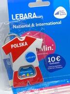 Lebara DE niemiecki Starter Karta SIM Card PrePaid