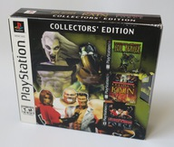 PS1 SOUL REAVER BLOOD OMEN FIGHTING FORCE EIDOS CE