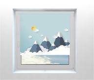 ROLETY DLA DZIECI wzory Góry Chmury |Skandynawskie