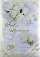 Ślubne Wspomnienia album zdjęcia+wpis duże pudełko