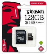 KINGSTON KARTA MICROSD 128GB MICRO CL10 ADAPTER SD