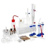 Zestaw szkła laboratoryjnego - Mały chemik