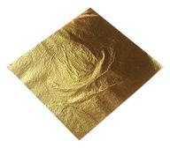 SZLAGMETAL 16x16 cm 100 szt. płatki złota 2.5