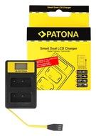 Patona Ładowarka Smart Dual LCD USB Fuji NP-W126