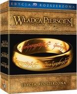 WŁADCA PIERŚCIENI TRYLOGIA ROZSZERZONA [6BD+9 DVD]