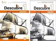 DESCUBRE 1 PODRĘCZNIK +CD + ĆW. NPP PO Podstawówce