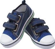 28 TRAMPKI dziecięce na RZEP tenisówki buty YO