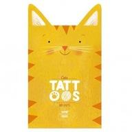 Londji zmywalne tatuaże Koty