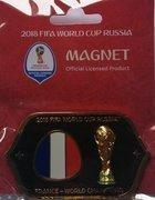 Magnes Francja Mistrz Świata 2018 Rosja oficjalny