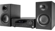 MINI WIEŻA RADIO CYFROWE DAB+ FM CD MP3 USB BT