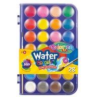 Colorino farby akwarelowe duża plastyka a'28
