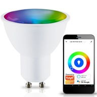 Żarówka LED SMART 5,5W 400lm WW-CW+RGB Wi-Fi TUYA