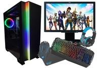 Zestaw PC do GIER! I5 GT 710 8GB Win10 Monitor 22'
