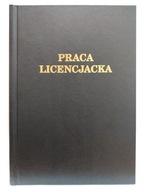 Okładka kanałowa AA 5mm praca licencjat czarna 1sz