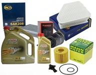 Zestaw filtrów TOYOTA AVENSIS T27 2.0 D-4D +olej