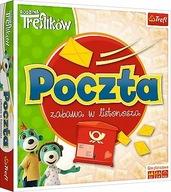 Gra POCZTA Trefliki zabawa w listonosza Planszowa