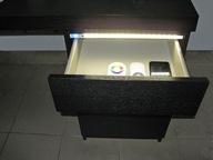 Oświetlenie LED do szuflad do 100cm z zasilaczem