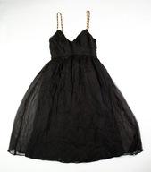 sukienka Zara 100% jedwab r.S glamour