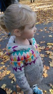 Sweterek śliczny 1-2latka M&S
