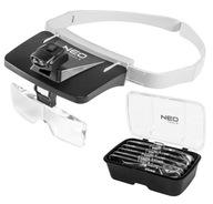 Okulary powiekszajace LUPA nagłowna LED soczewki