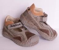 Sandałki Antylopa 418 beż r. 20 -40%%