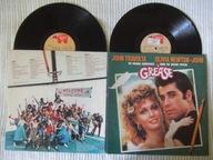 John Travolta Olivia Newton John Grease LP UK