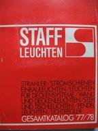 Lampy stojące wiszące STAFF LEUCHTEN Katalog 77/78