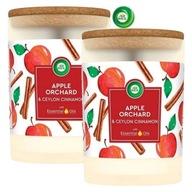 Air Wick Apple Orchard Duże Świeczki Zapachowe