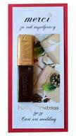 świąteczne czekoladki merci biznesowe z logo firmy