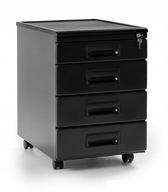 Kontener biurowy szafka cztery szuflady organizer