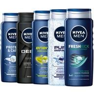 NIVEA MEN żel pod prysznic męski zestaw 5x500ml