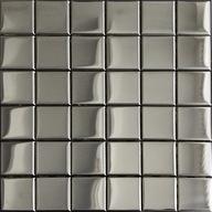 Mozaika Szklana Chrom Metalik 48