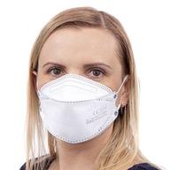 Maska FFP2 ochronna filtrująca CERTYFIKAT na gumki
