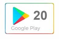 Google Play 20 zł Kod Karta podarunkowa
