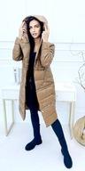 Kurtka damska 3w1 camel jesienno-zimowa XL