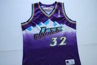UTAH JAZZ NBA__CHAMPION__KOSZULKA MALONE 32__L