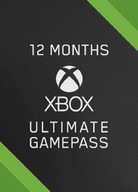 XBOX ULTIMATE GAME PASS LIVE GOLD 12+4 MONTHS