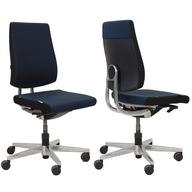 Fotel biurowy obrotowy niemiecki Sedus GRANATOWY