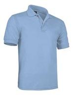 Koszulka POLO KR mundurek szkolny błękitna 100-116